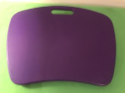 Portable Plastic Top & Sand Bag Back. Table Top. 16 x12-1/2 . Photo of Back Attached