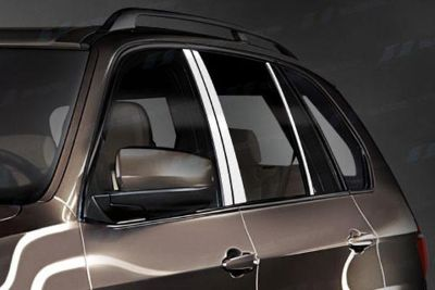 Buy SES Trims TI-P-261 07-11 BMW X5 Door Pillar Posts Window Covers Trim 6 Pcs 3M motorcycle in Bowie, Maryland, US, for US $70.20