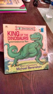 1989 King of The Dinosaurs Book