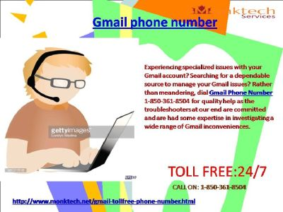 How To Connect With Gmail Phone Number 1-850-361-8504?