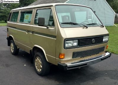 1986 Vanagon Syncro GL (all-wheel drive)
