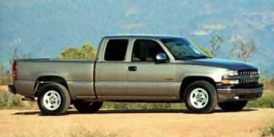 2000 Chevrolet Silverado 1500 LT (Light Pewter Metallic)