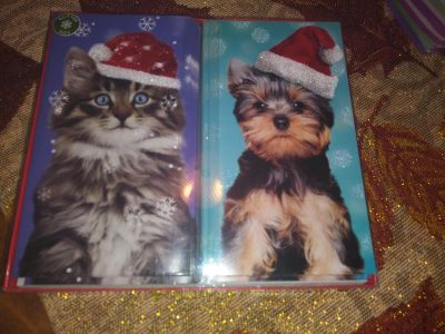 New Christmas cards 14ct two kinds
