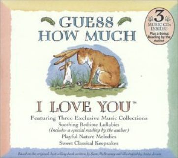 Guess How Much I Love You 3 Audio Book CD Box Set Lullabies Collection