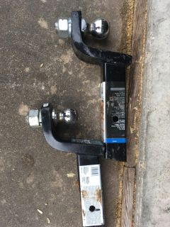 Two truck hitches for sale