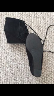 Women's size 8 wedge boots