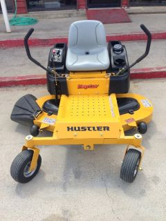 "Hustler Raptor Zero Turn 52"" 2999 financing available"