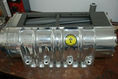 Littlefield 10-71 Polished Aluminum Roots Supercharger Blowe