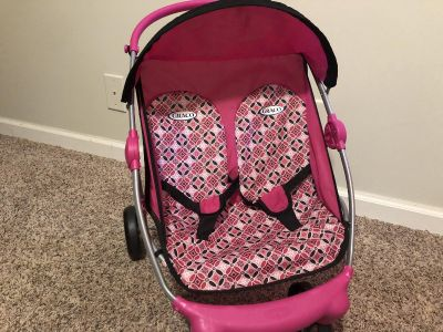 Double Graco doll stroller