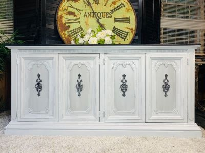 Gorgeous vintage Buffet Media console