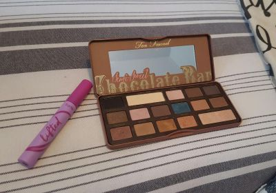 'TOO FACED' CHOCOLATE SHADOW PALETTE......'TARTE' LIFTED MASCARA...*BOTH ONLY $20!