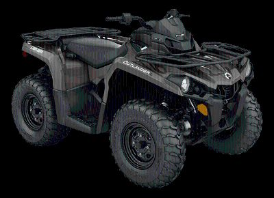 2016 Can-Am Outlander L 450 Utility ATVs Woodstock, GA