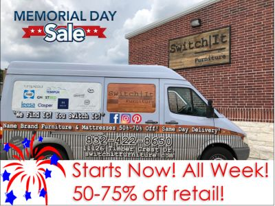 MEMORIAL DAY MATTRESS SALE!!! 60%-70% OFF!!