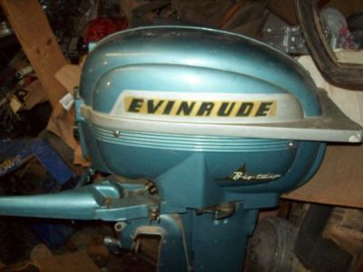 Sell Evinrude Big Twin 25 HP Outboard Motor Shipping Is Available motorcycle in Bremerton, Washington, United States