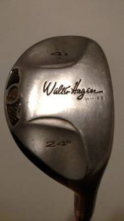 Walter Hagan Hybrid 4 Iron - Righty - UniFlex Shaft w/ Hagan Grip