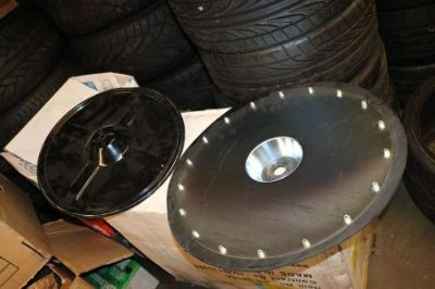 Sell 223845 GRACO PLATE FOLLOWER 400LBS GREASE DRUM motorcycle in Sun Valley, California, United States, for US $145.00