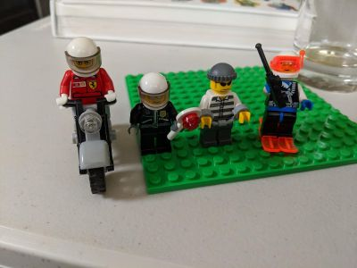 Set of Authentic Lego Minifigures as shown