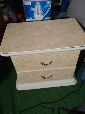 2 drawer Nightstand, made in Italy