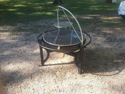New fire pit/ grill