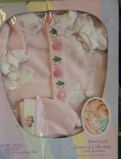 Baby doll outfit NIB