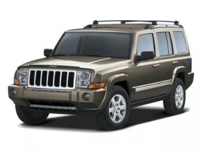 2008 Jeep Commander Overland (Light Graystone Pearl)