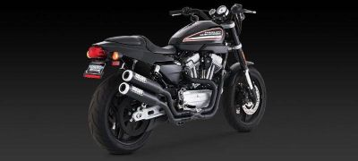 Find Vance & Hines Widow 2-1-2 Full Exhaust Black 09-12 Harley Davidson XR1200 motorcycle in Ashton, Illinois, US, for US $584.96