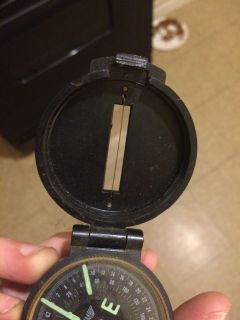 Great antique military compass