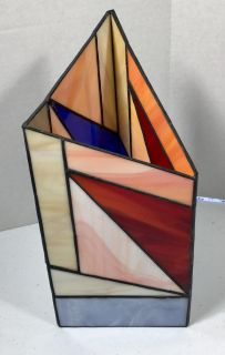 Leaded Stained Glass candle holder