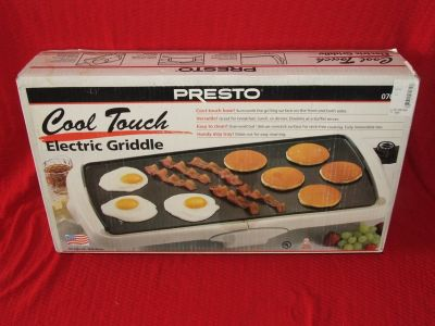 Presto Electric Griddle Cool Touch NEW