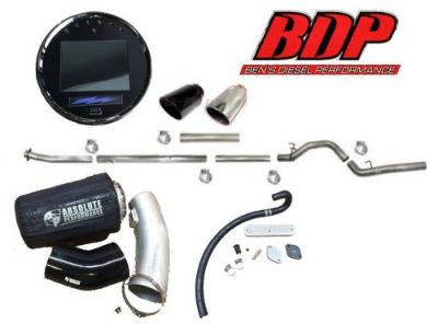 """Purchase Tbolt Guage DPF Delete Tuner with 5"""" Flo Pro Exhaust Absolute Performance Intake motorcycle in Monticello, Georgia, United States, for US $2,209.00"""