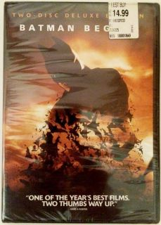 Batman Begins (Two-Disc Special Edition) New Sealed