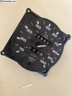 VDO speedometer (broken needle) 88 471 192 0-100mp