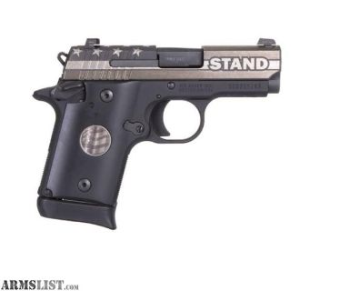 For Sale: NEW SIG SAUER P938 STAND 9MM SIGLITE