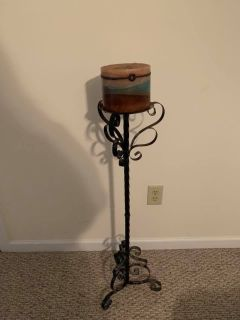 Candle and candle holder