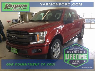 2018 Ford F-150 XLT (Ruby Red)