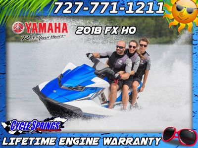2018 Yamaha FX HO PWC 3 Seater Clearwater, FL