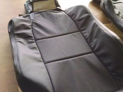 Sell 2004 - 2008 Acura TL Black (Ebony) Leather Replacement Seat Covers for front. motorcycle in Ludlow, Massachusetts, United States, for US $660.00