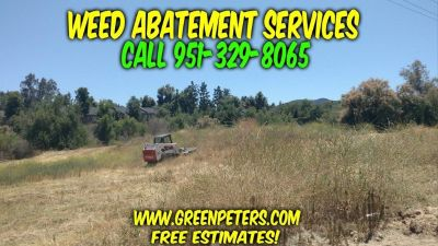 Weed Abatement Services in Temecula