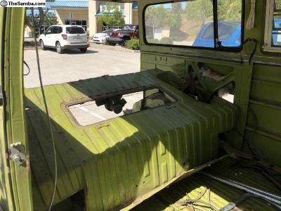 1977 camper bus parts