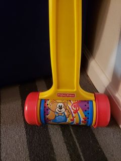 Fisher price push n go chime