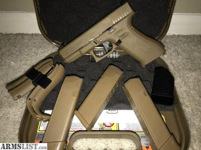 For Sale: LNIB Glock 19X with Apex Tactical Gen 5 Trigger