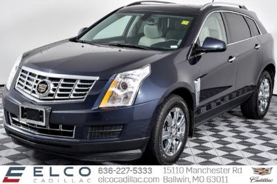 2014 Cadillac SRX Performance Collection (Sapphire Blue Metallic)