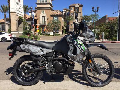 2018 Kawasaki KLR 650 Camo Dual Purpose Motorcycles Marina Del Rey, CA