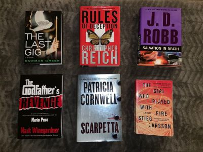 Mystery Books - Various Authors