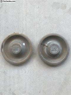 Original western wheels center caps (1 pair)