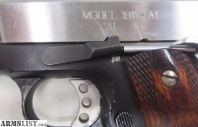 For Sale: 1911 .45ACP