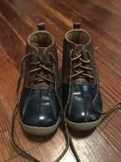 Toddler duck boots