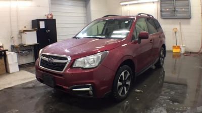 2018 Subaru Forester 2.5i Limited (Venetian Red Pearl)