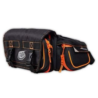 Purchase Troy Lee Designs Adventure Ranger Mens Hip Pack Black/Orange OS motorcycle in Holland, Michigan, United States, for US $75.00