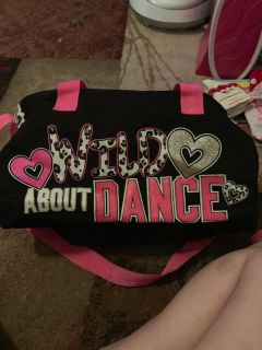 Justice Dance duffle bag - ppu (near old chemstrand & 29) or PU @ the Marcus Pointe Thrift Store (on W st)